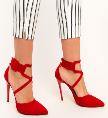 Обувки Bruno Червени 2