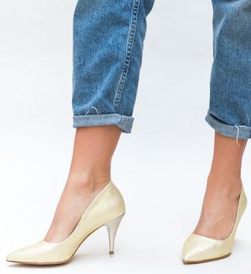 Обувки Buhas Златни