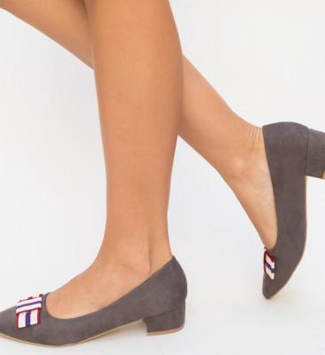 Обувки Cambio Сиви