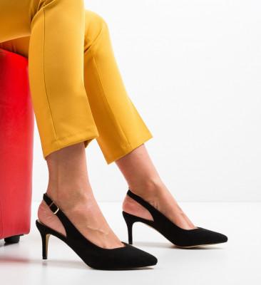Обувки Chyna Черни