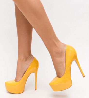 Обувки Dagor Жълти