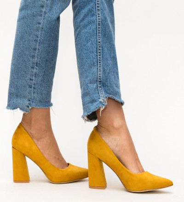 Обувки Dorsy Жълти