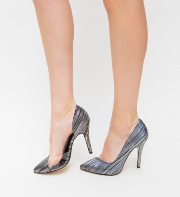 Обувки Eman Сребърни