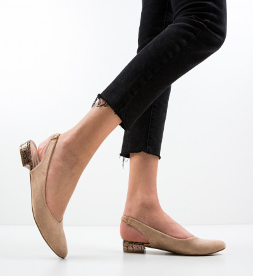 Обувки Esmai Бежов