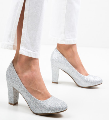 Обувки Esoum Сребърни