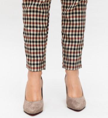 Обувки Irona Каки