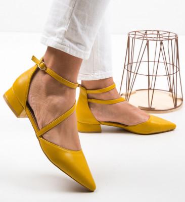 Обувки Jem Жълти