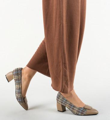 Обувки Mair Бежов