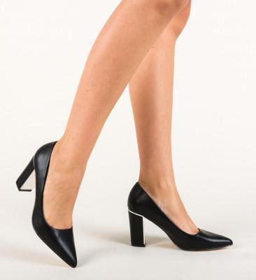 Обувки Mikra Черни