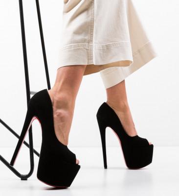 Обувки Quker 8 Черни