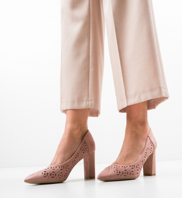 Обувки Roc Розов