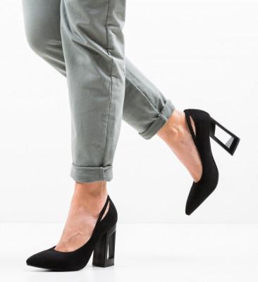 Обувки Roy Черни