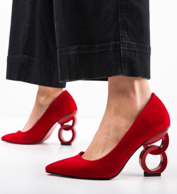 Обувки Simoni 2 Червени