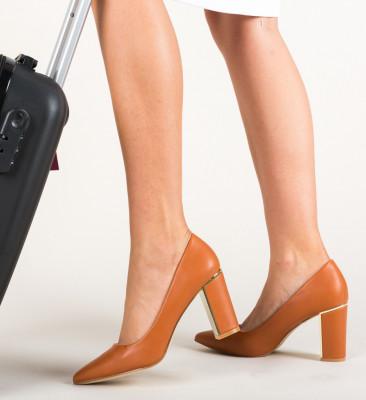 Обувки Tiramis Камел