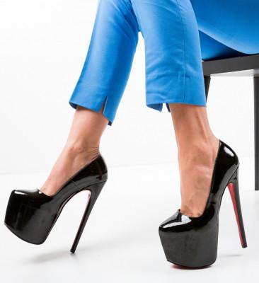 Обувки Yras Черни