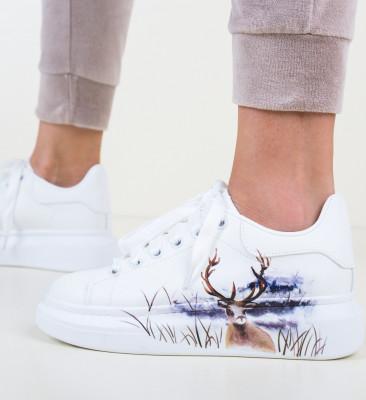 Спортни обувки Cerbo Бели