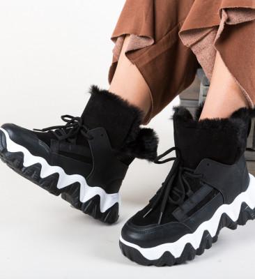 Спортни обувки Feelo Черни