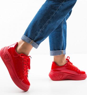 Спортни обувки Grah Червени