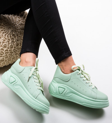 Спортни обувки Pugh Тюркоаз