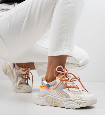 Спортни обувки Rekom Бежов