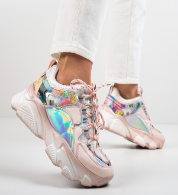 Спортни обувки Solkaus Розов