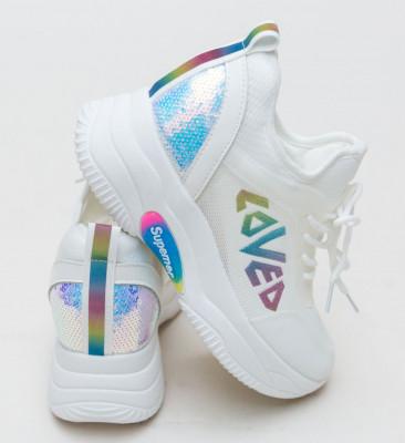 Спортни Обувки Solzen Бели