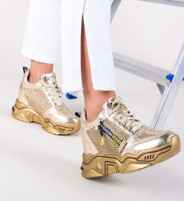 Спортни обувки Sprank Златни