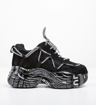 Спортни обувки Yamaiox Черни