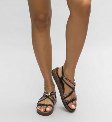 Sandale Damasc Negre