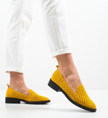 Ежедневни обувки Ancuty Жълти