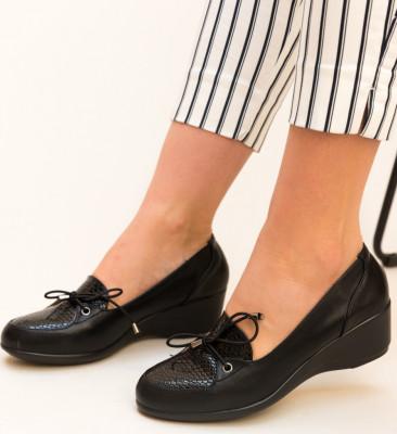 Ежедневни обувки Aston Черен