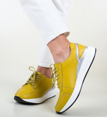 Ежедневни обувки Barn Жълти