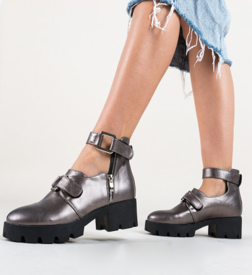 Ежедневни обувки Bikol Сив