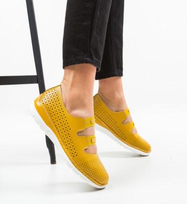 Ежедневни обувки Lott Жълти