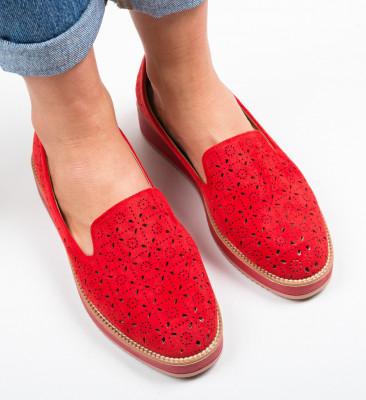 Ежедневни обувки Omega Червени