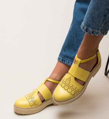 Ежедневни Обувки Potic Жълти
