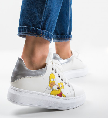 Ежедневни обувки Psycho 2 Бели