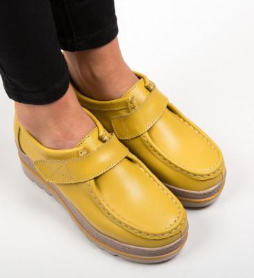 Ежедневни обувки Straif Жълти