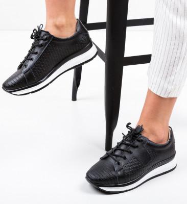 Ежедневни обувки Trent Черни