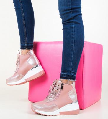 Ежедневни обувки Vance Розов