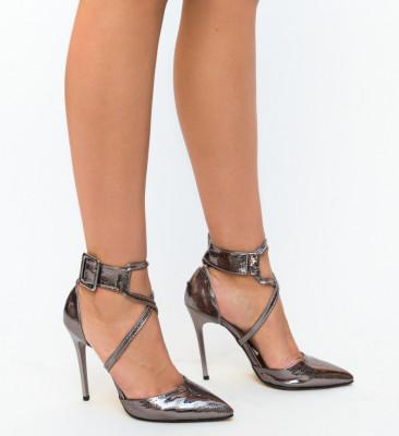 Обувки Bruno Сиви