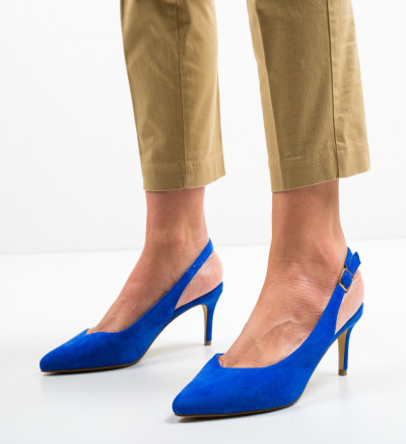 Обувки Chyna Сини