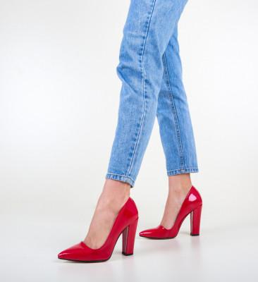 Обувки Dekor Червени
