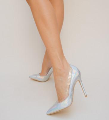 Обувки Furlas Сребърни