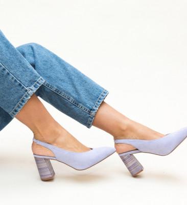 Обувки Iwan Лилави