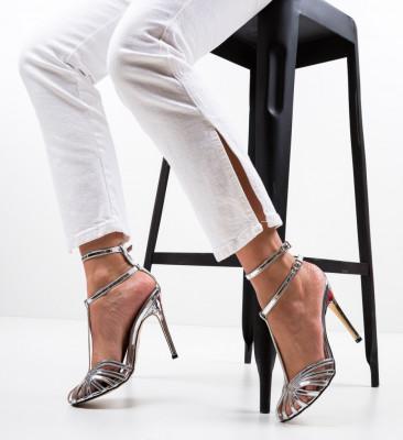 Обувки Jordanne Сребърни