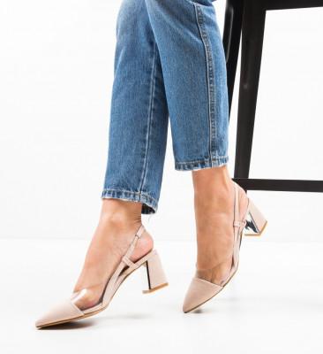 Обувки Milla Бежов