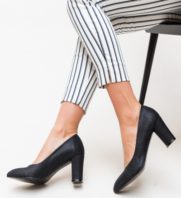Обувки Orion Черни