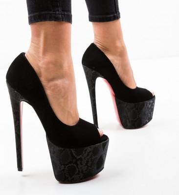 Обувки Quker Черни