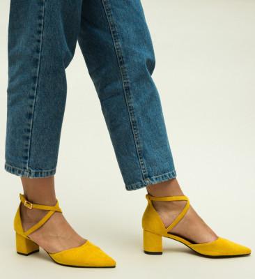 Обувки Ramos Жълти